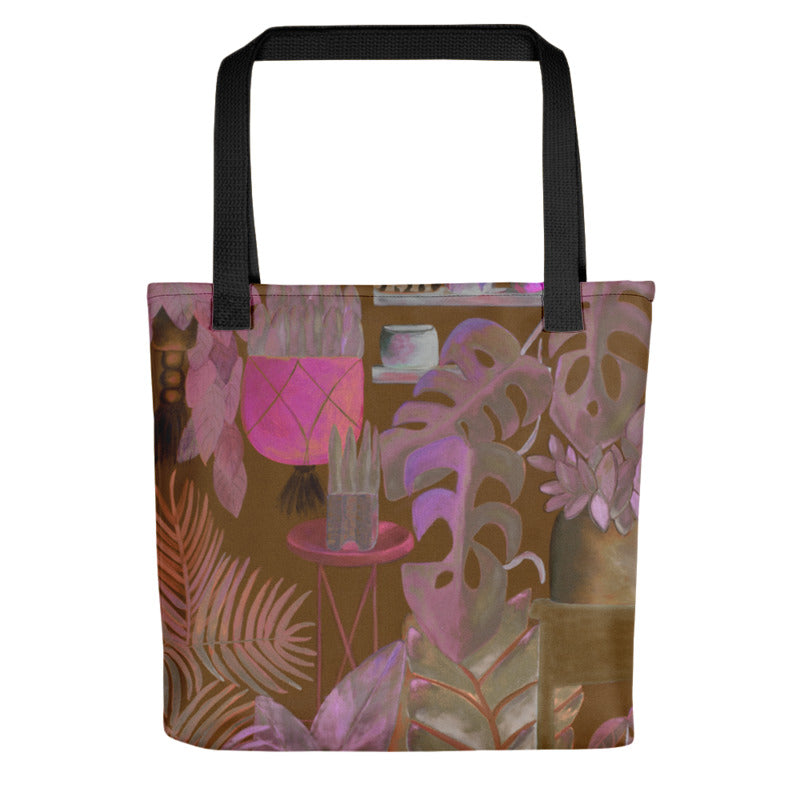 """Foliage Browns"" Tote Bag"