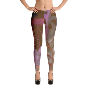 """Foliage Browns"" Leggings"