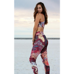 """Fluid Noles Love"" High-Waist Leggings"