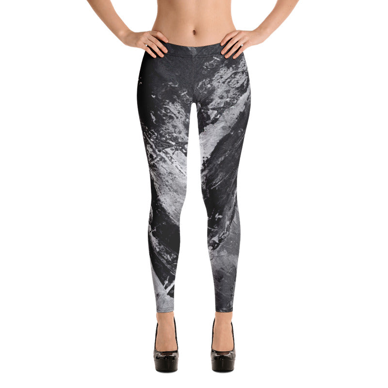"""Heart Explosion Noir"" Leggings"