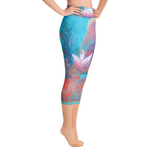 """Lotus"" Art Athleisure Capri"