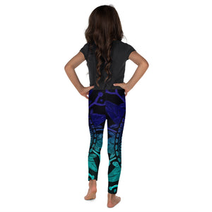"""Mandala Purple and Teal"" Fine Art Leggings for Kids"