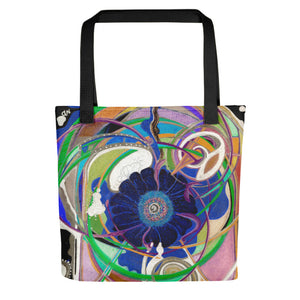 """Nicole's Abstract II"" Tote Bag"