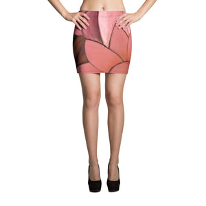 """Rose Gold II"" MiniSkirt"