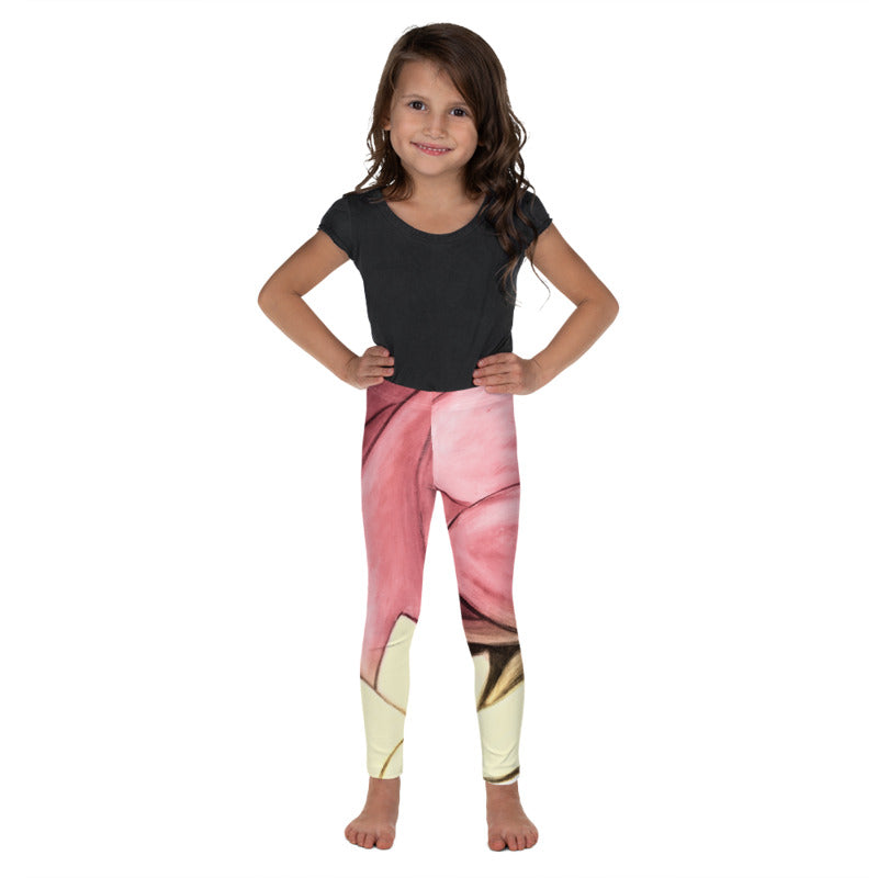 """Rose Gold"" Fine Art Leggings for Kids"