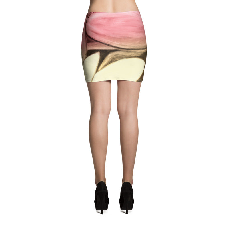 """Rose Gold"" Miniskirt"