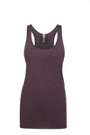 """Vintage Purple"" Threads Tri Blend Tank Top"