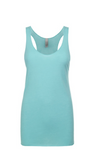"""Tahiti Blue""Threads Tri Blend Tank Top"