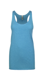 """Vintage Turquoise"" Threads Tri Blend Tank Top"