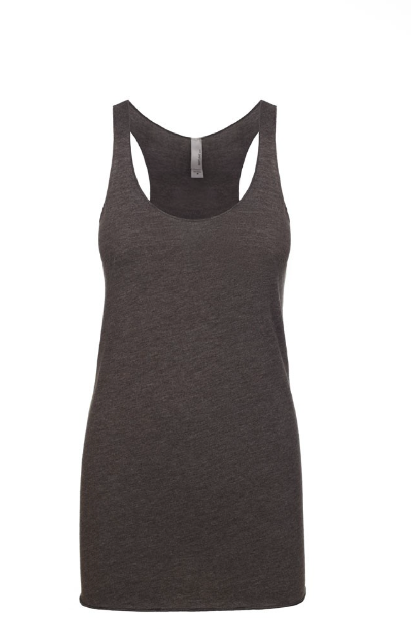"""Macchiato"" Threads Tri Blend Tank Top"