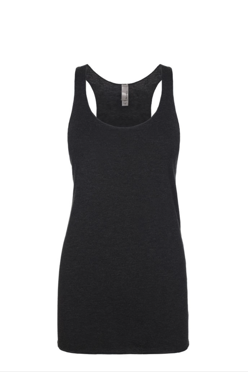"""Black"" Threads Tri Blend Tank Top"