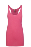 """Shocking Pink"" Threads Tri Blend Tank Top"