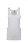 """Heather White"" Threads Tri Blend Tank Top"