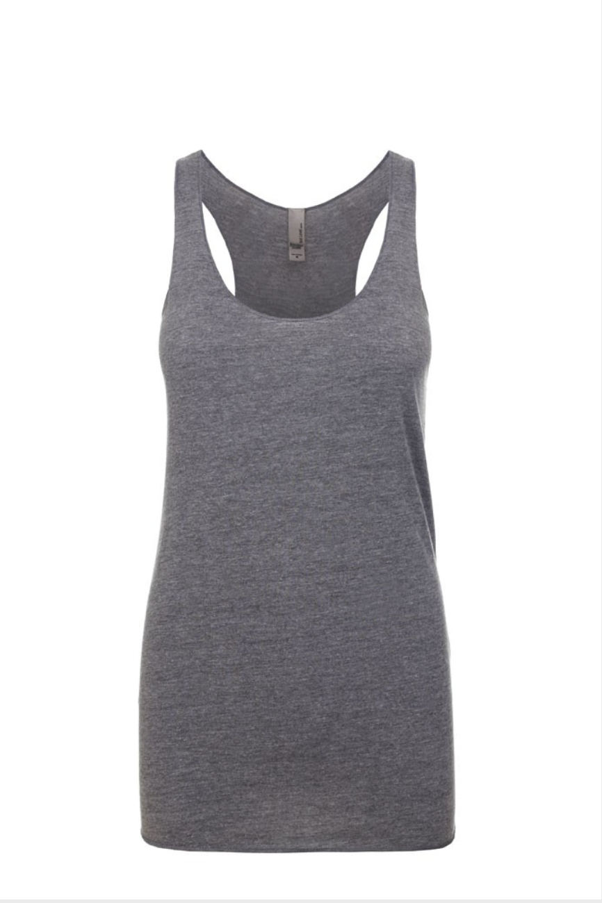 """Premium Heather"" Threads Tri Blend Tank Top"