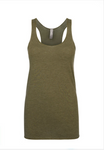 """Military Green"" Threads Tri Blend Tank Top"