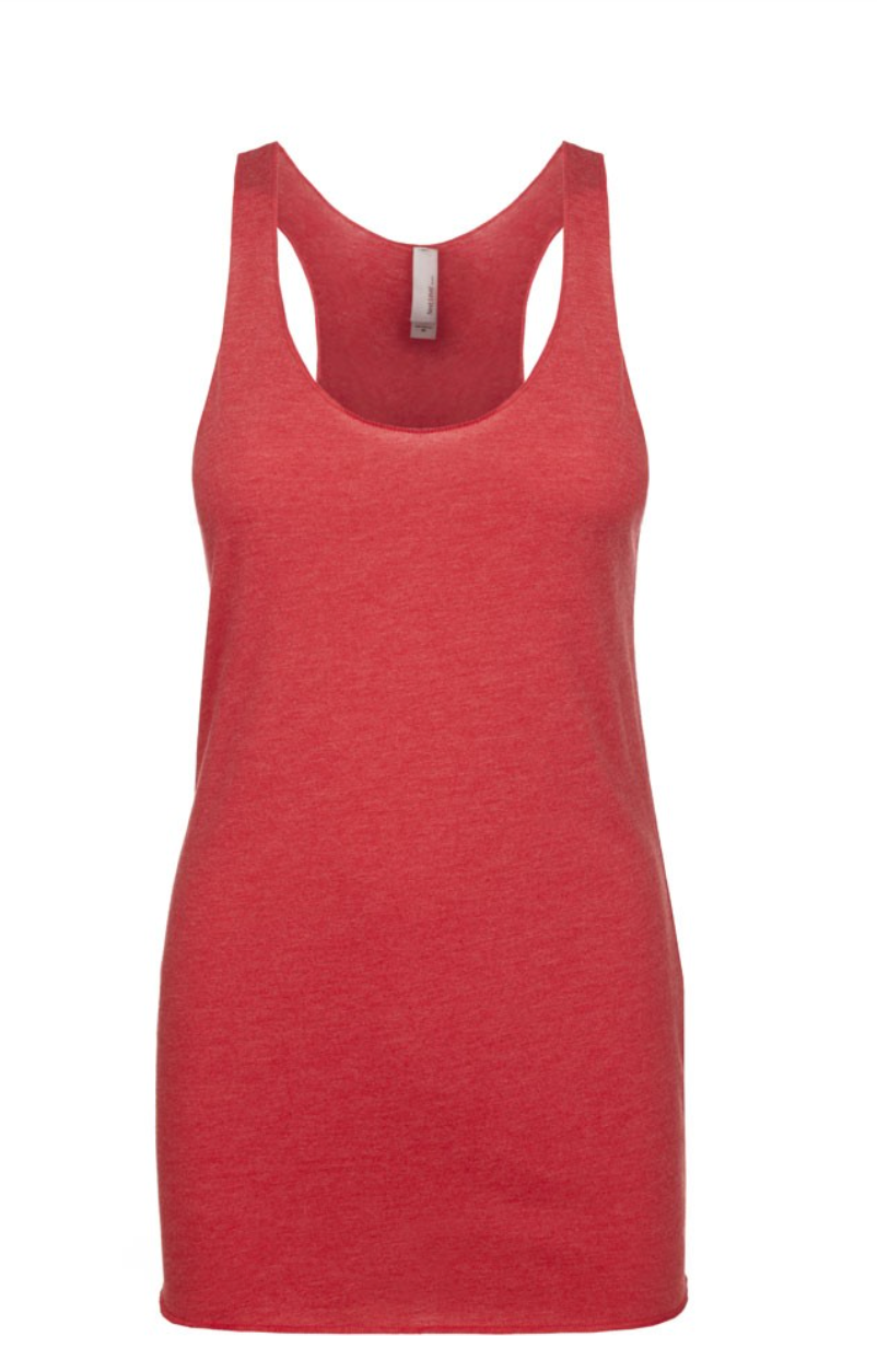 """Red"" Threads Tri Blend Tank Top"
