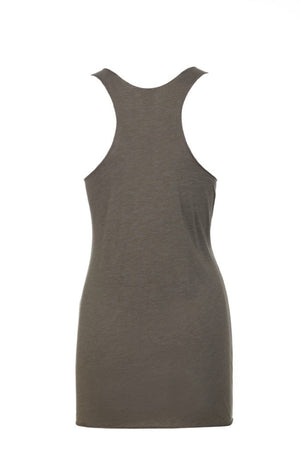 """Venetian Grey"" Threads Tri Blend Tank Top"