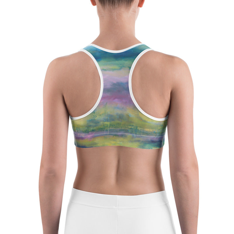 """Celery Fields"" Sports Bra"