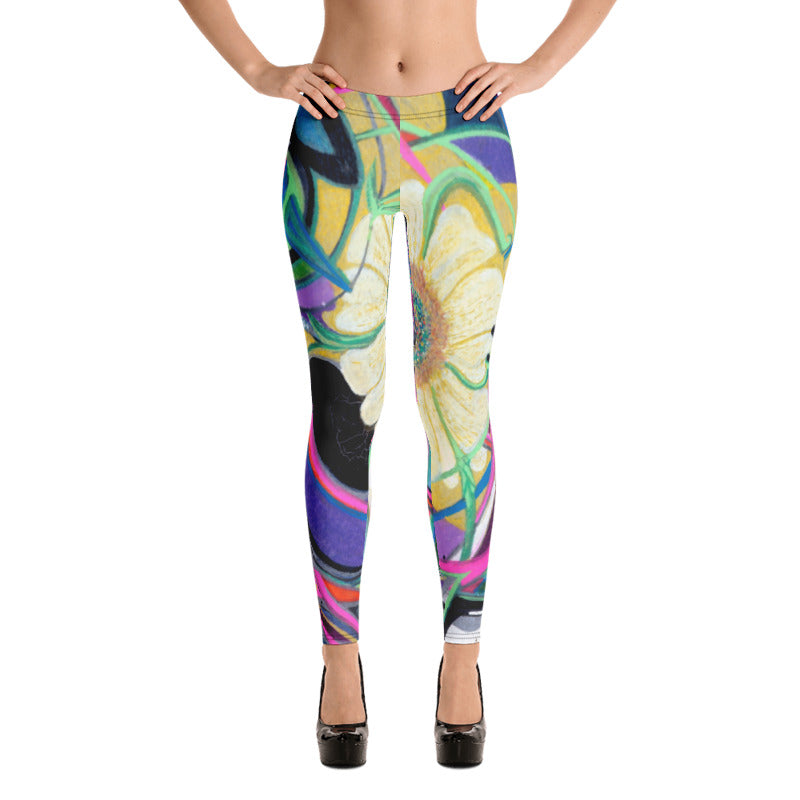 """Nicole's Abstract"" Leggings"
