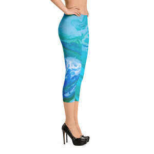 Fluid Turquoise LOW WAIST Right