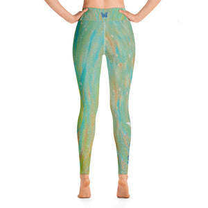 """Butterfly to Angel Wings Tidewell"" High-Waist Leggings P"