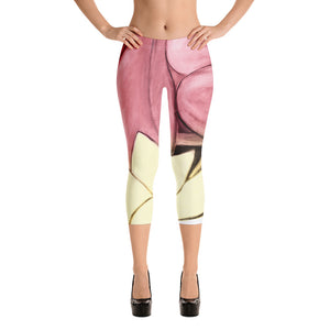 """Rose Gold"" Regular-Waist Capris"