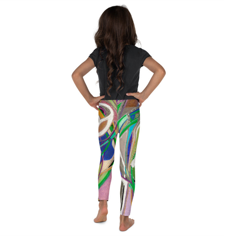 """Nicole's Abstract II"" Leggings for Kids"