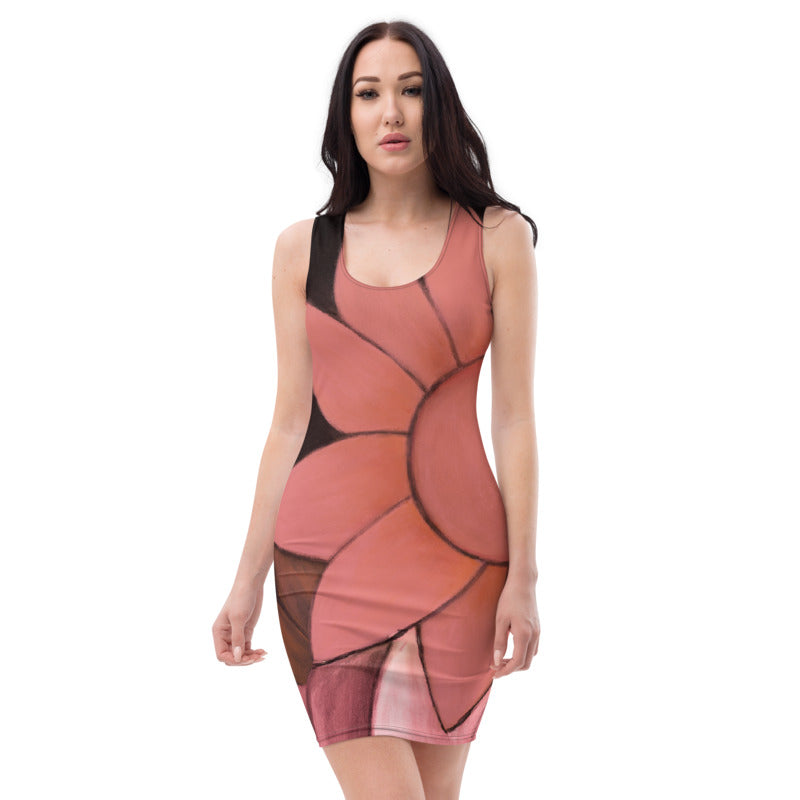 """Rose Gold II"" Bodycon Dress"