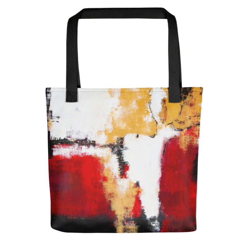 """Abstract Woman"" Tote Bag"