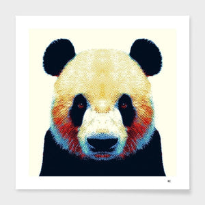 panda colorful animals pillow for glitz and giggles