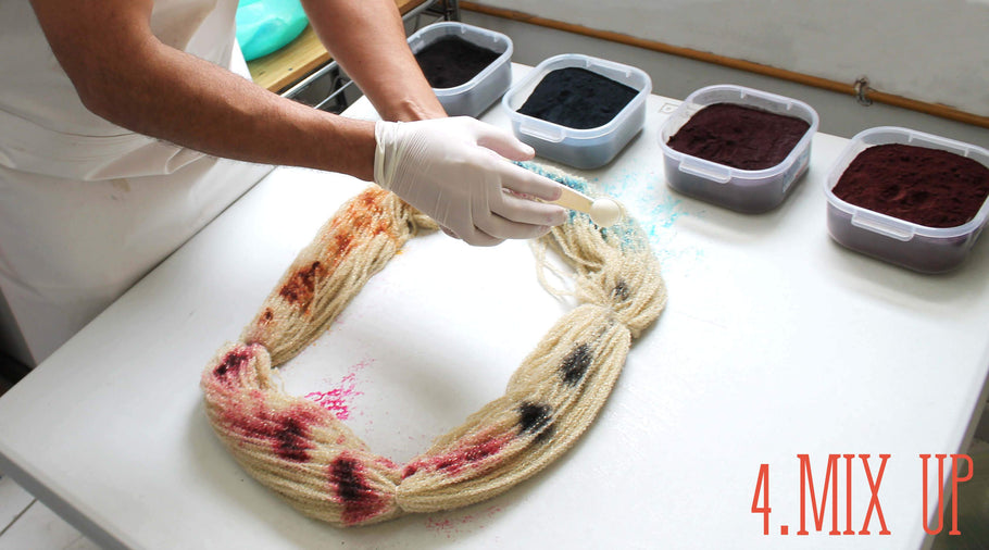 Step-by-step Guide - Hand dyeing at home