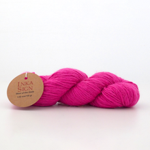 Load image into Gallery viewer, Alpaca wool yarn Strong Pink