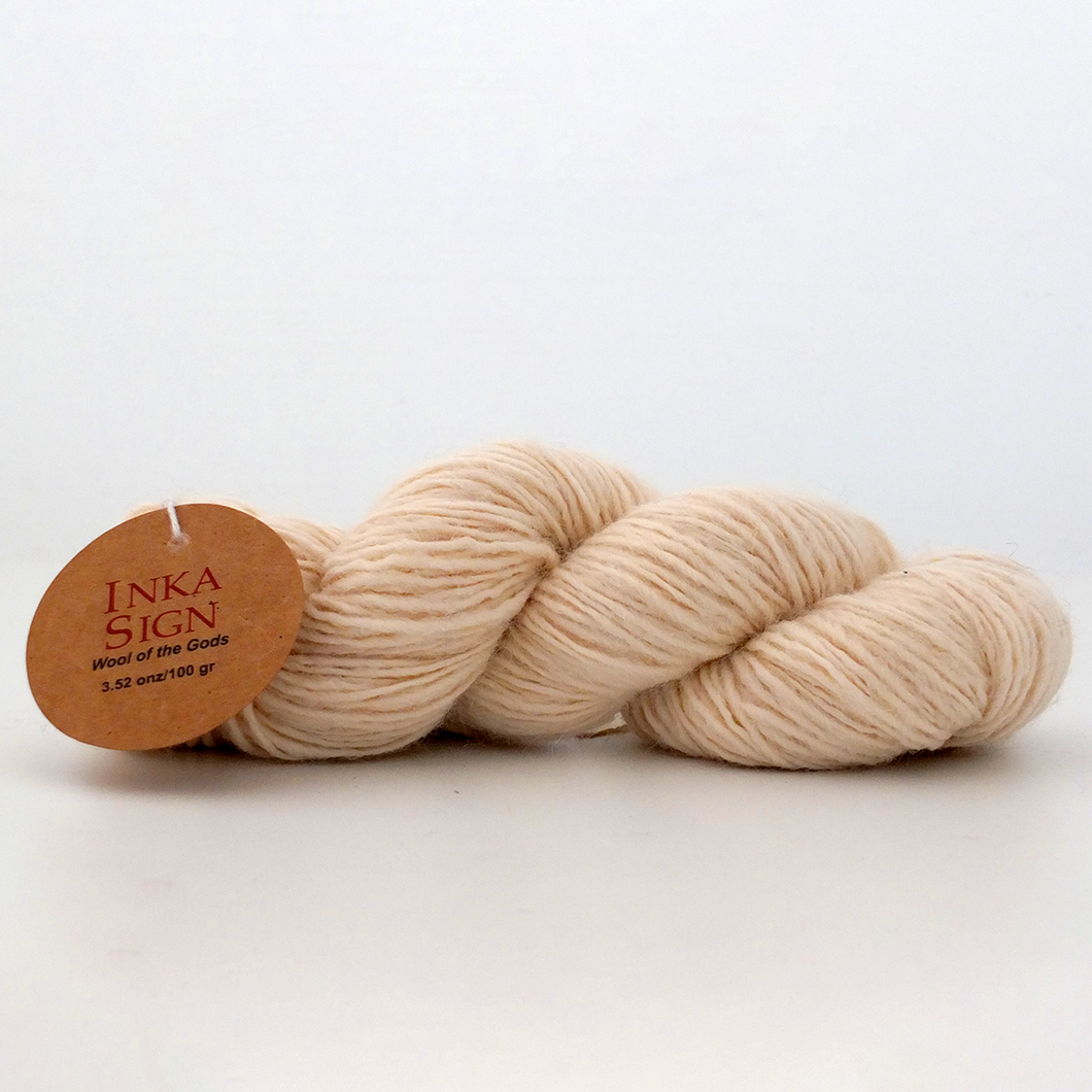 Alpaca Wool Yarn Ecru