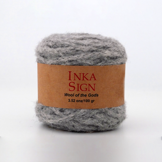 Grey Alpaca yarn premium