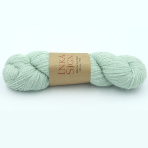 Aran Weight Yarn Baby Alpaca Cotton