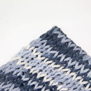 Cotton Yarn Swatch for knitting