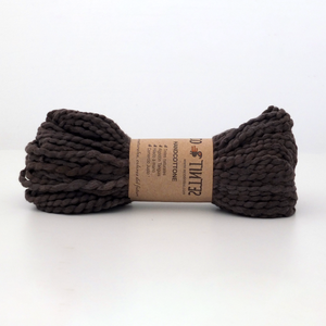 Handspun yarn Yarn Brown