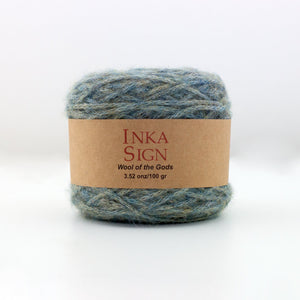 Green Baby Alpaca Yarn
