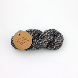 Charcoal Alpaca Wool Yarn