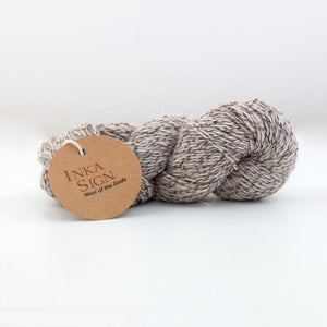 Beige Alpaca Wool Yarn
