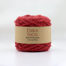 Load image into Gallery viewer, Wine Alpaca yarn premium