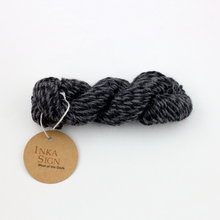 Load image into Gallery viewer, Twisted Gray Alpaca wool yarn