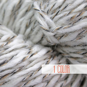 Wool yarn White Sathiri