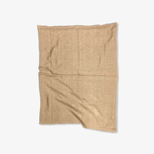 Load image into Gallery viewer, Organic baby Blanket Brown