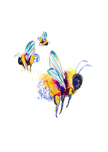 Busy Bee A3 Print