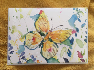 Flutterby A5 Card
