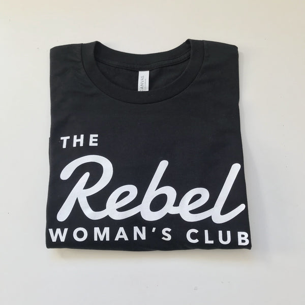 Black rebel tee + tote bag combo