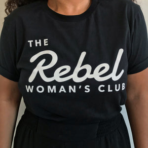 Black Rebel Woman T-shirt