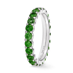 Bague Diamants Green Forest Serti 2 griffes Prestige - Tour complet 2.5 mm / 1.5 carat