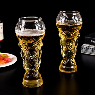 Football Soccer World Cup 450ML Wine Whiskey Beer Glass Mug